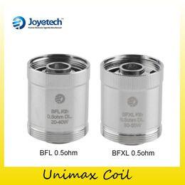 Wholesale Tanks 25 - Authentic Joyetech BFXL BFL Coil BFXL Kth-0.5ohm BFL Kth-0.5ohm DL Head Replacement Coils for Unimax 22 25 tank kit Genuine 2220068