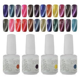 Wholesale Top Color Gelish - IDO Gelish Cat Eye Gel Magnetic Strike 24 Color Gel Polish Cosmetic Foundation Top Coat 6Pcs Lot