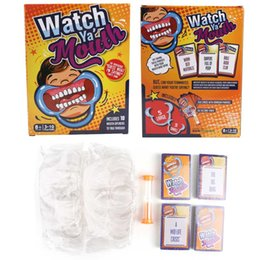 """Wholesale Trade Store - Watch Ya Mouth The ridiculous """"Guess What I am saying"""" Party Game with 200 CardS 10 mouth openers sell by Flyream store"""