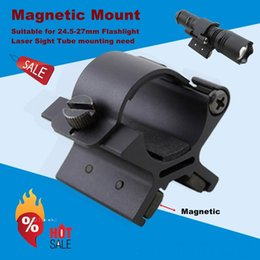 Wholesale Rail Mount Accessories - MX01 picatinny rail 25.4mm magnetic clamp laser scope mount for tactical flashlight hunting accessories shooting guns