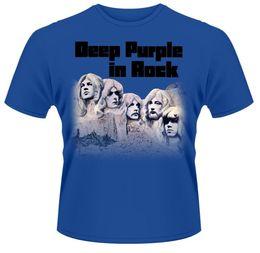 Wholesale Deep Neck T Shirts Men - New 2017 Men'S Funny Deep Purple 'In Rock' Design T Shirt Male Novelty Tops Gentleman Custom Printed Short Sleeve Tees