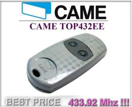 Wholesale Garage Door Remote Key - FOR CAME TOP 432EE garage door remote Control 433,92Mhz 2-channel key fob