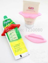 Wholesale Toothpaste Squeezer Wholesale - Wholesale- Details about Lovely Idea Sexy Mouth Toothpaste Cosmetics Facial Cleaner Squeezer Dispenser