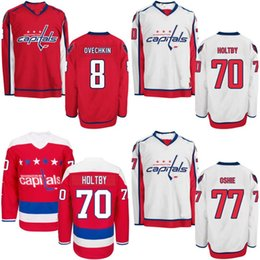 7316f860b79 Youth Washington Capitals Jersey 2 Matt Niskanen 43 Tom Wilson 74 John  Carlson 83 Jay Beagle 88 Nate Schmidt Custom Hockey Jerseys