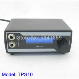 Wholesale Control Tattoo - Wholesale-Top Double Output Digital Tattoo Power Supply Tattoo Machine Speed Control LED Light EU Plug Tattoo Accessories Supply TPS10#