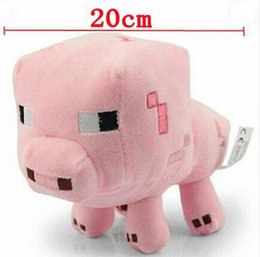 Wholesale Cute Pig Plush Toy - 20cm Plush Baby Pig Plush Toys Cute Pink Pig Plush Stuffed Toys Soft Toy Brinquedos Chirstamas Gifts for Kids Children