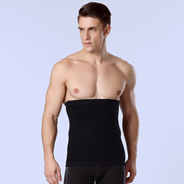 Cinturón de banda delgada online-Al por mayor- 1pcs Band Men adelgazante Body Shaper Belly Waist Abdomen Belt Shapewear Tops Mens Waist Trainer Compression Underwear Strap