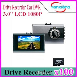 Wholesale Upgraded Memory - 100pcs Upgrade version New mini car dvr camera full hd 1080p parking recorder video YX-Q6-3