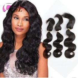 XBL Malaysian 100 Hair Hair Bundles Braed Curseur dans les lots Extensions des cheveux humains Body Wave, Straight Hair Weave à partir de fabricateur
