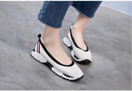 Wholesale Diamond Dancing Shoes - Top Quality Luxury Brand Women bottom canvas loafers Espadrilles Diamond sheepskin dance shoes Flats shoes Flus size
