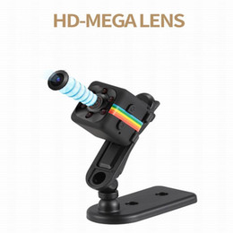 Wholesale Security Car Cameras Recorders - New HD-Mega Lens SQ11 DV HD 1080P Mini Camera 12MP Car DVR Motion Detection Multifunction Infrared Home Security Voice Video Recorder