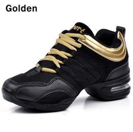 Wholesale White Salsa Shoes - NEW 2017 Dancing Shoes for Women Jazz Sneaker New Salsa Dance Sneakers for Woman Ballroom Dance Shoes Fitness shoes