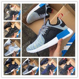 Wholesale White Baby Canvas Shoes - (With Original Box) 8 Colours Drop Free Shipping Women Mens Baby Kids Mastermind x NMD XR1 Japan Sneakers Sports Running Shoes Size 36-45