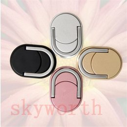 Wholesale Unique Phone Stands - Magnetic Metal Ring Phone Holder with Stand Unique for Cell Phone Tablet Holder Fashion Universal with retail package