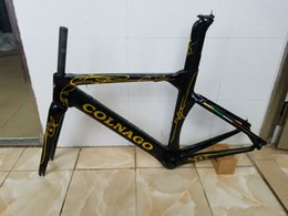 Wholesale Carbon Road Bikes For Sale - T1000 carbon fiber bicycle frame Di2 Mechanical racing for carbon road bike colnago concept on sale many color options
