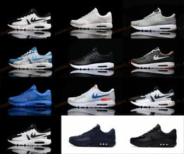 Wholesale Max 87 Men - New Fashion Max Zero 87 2 Running Shoes For Men, Top Quality Breathable Athletic Sport Outdoor Sneakers Eur Size 40-45