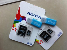 Wholesale Memory Usb 16gb Adata - Original Memory ADATA Card Micro SD 8GB 16GB 32GB 64GB Class10 sd card 128gb micro card + adapter reader