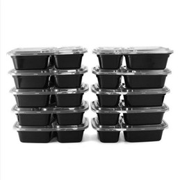 Wholesale Wholesale Bento Lunch Boxes - Disposable Microwave Food Storage Safe Meal Prep Containers Lunch Box Kids Food Container Tableware Bento Dinner DHL