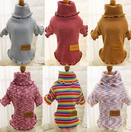 Wholesale Pink Dog Coat Xxl - XS-XXL Sweater Pet Dog Clothes Coat Jacket Puppy Small Dogs Clothing Cat Costume Apparel Hoodies Chihuahua Yorkie Warm