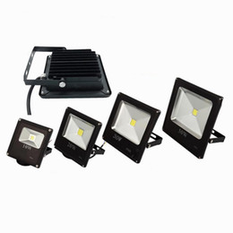 Wholesale Warm White Led Flood 12v - Outdoor LED Floodlights Landscape Lighting Flood Light 10W 20W 30W 50W 70W waterproof garden led lights fixtures 85-265V 12v