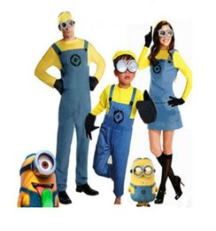 Wholesale Minions Halloween Costume - Halloween Costume Minions Children Activities For Children And Adults Thief Daddy Costumes