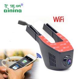 Wholesale Mini Vehicle Hd Dvr - car camera Mini Wifi Auto Camera Full HD 1080P Dash Cam Logger Video Recorder Vehicle Black Car Dvr