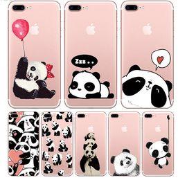 Wholesale Cute Cartoon Casing - Cute Cartoon Soft TPU Case For Apple iphone 6 6s 6plus Fundas iphone 7 7plus Soft Silicone Animal Phone Cases Back Cover
