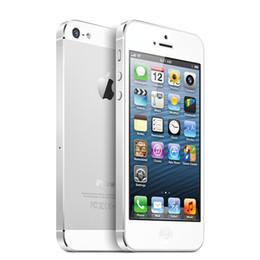 """Gebrauchte apfel handys online-Ursprünglicher freigesetzter Apple iPhone 5 IOS Handys 4 """"1G 64GB benutzter Handy 1080P WCDMA Smartphone GPS WIFI"""