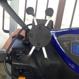 Suporte do suporte da motocicleta telefone gps berço suporte para iphone celular fit bicicleta da bicicleta de