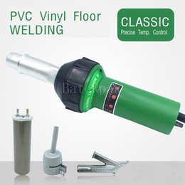 Wholesale Thermostat Gun - DSH-D1 Plastic hot air gun PVC vinyl floor sheet plastic floor welding Machine 1600W high power PP thermostat Plastic welding gun
