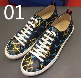 Wholesale Luxury American Shoes - New arrival!luxury European men's casual shoes European and American leather low fashion trend of British wild shoes