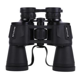 Wholesale Telescope Eyepieces - 10x50 binoculars High resolution high magnification low light night vision Big eyepiece telescope