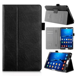Wholesale Huawei Mediapad Case Inch - Wholesale- Luxury PU Leather Case Stand Cover for Huawei MediaPad M3 8.4 Inch Tablet Protective Shell Case for Huawei M3 BTV-W09 BTV-DL09