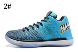 Wholesale Basketball Player Shoes - 2017 new XXXI 31 LOW MARQUETTE PE PLAYER EXclusive EDITION men basketball SHOES top quality 31s mens Sports Training Sneakers