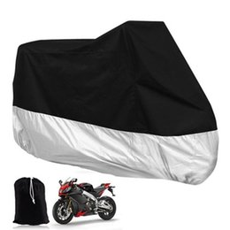 Wholesale Cover For Scooters - XXXL Large Motorcycle Dustproof Waterproof Rain UV Resistant Dust Prevention Vented Cover for Motor Bike Scooter Rain Coat