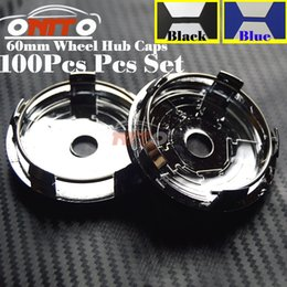 Wholesale Passat Cc Kit - Best Price 100Pcs 56MM 60MM 63MM 65MM 70MM Wheel Logo Cap Wheel hub Emblem Cover For Passat B6 B7 CC Golf Jetta MK5 MK6 Tiguan car kit
