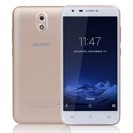 Wholesale Micro Bluetooth China - Original CUBOT HAFURY MIX 5.0 Inch SmartPhone Quad-Core 2G 16G China brand phone Android 7.0 MT6580 mobile phone