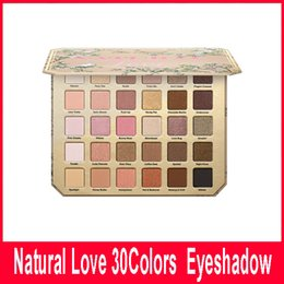 Wholesale Face Makeup Eye Shadow - Newest Faced Natural Love Eye Shadow Collection Palette 30 colors eyeshadow palette Matte Makeup Eye Shadow