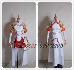 Wholesale Yuuki Asuna Cosplay - Sword Art Online Cosplay Costume Asuna Yuuki custom made