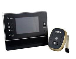 3,0-Zoll-Farbmonitor 3X-Zoom-Weitwinkel-Video-Türsprechanlage von Fabrikanten