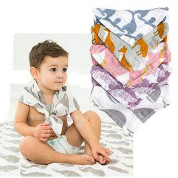 turbantes de criança Desconto 60 * 60 cm bebê babadores Burp Panos Triangle Burp Crianças Infantil de algodão Infantil Cachecol Turbante Alimentação Do Bebê headband frete grátis