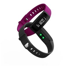 Wholesale Italian Cycling - latest design V07 smart bracelet Bluetooth outdoor sports watch Fitbit Flex with physiological cycle reminder smartwatch free shipping