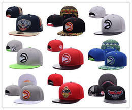 Wholesale Hawking Orange - NEW HOT! Atlanta Adjustable Hawks wholesale price Snapback Hat Thousands Snap Back Hat Basketball Cheap Hat Adjustable Baseball Cap
