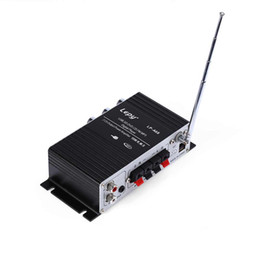 Wholesale Portable Power Amplifier - Lepy LP - A68 multi-functional Household Motorcycle Portable Amplifiers FM SD USB MP3 USB Card Stereo Audio Car Power Amplifier