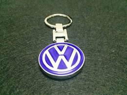 Wholesale Vw Keyrings - Solid Alloy Metal Key Chain Keyring Keychain Key Ring Suit For Volkswagen VW