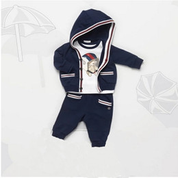 Wholesale Tutu Sizes For Kids - Boys Formal Clothing Kids Attire For Boy Clothes Plaid Suit In September Toddler Suit Set Children's Clothing Boy Tracksuits