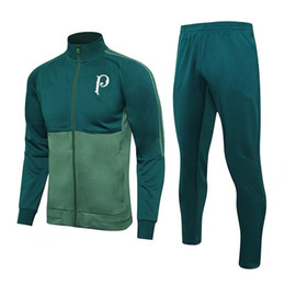 Wholesale Thailand Quality Soccer Uniforms - 2017 18 PALMEIRAS JESUS ZE ROBERTO tracksuit football soccer uniforms full set training Thailand Quality Soccer Jersey football kits