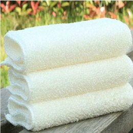 Wholesale Eco Fiber - 10pcs Korean style Kitchen washing cloth thickened oil absorbent bamboo fiber washing towel lint disposable detergent scouring cloth