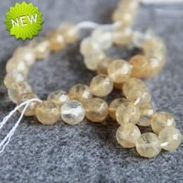 Wholesale Yellow Jade Beads Bracelet - New For Necklace&Bracelet Accessories 10mm Yellow Watermelon Tourmaline Jasper beads Loose jade Beads 15inch loose beads Jewelry