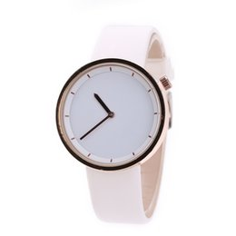 Wholesale Blue Contracts - wengle new 2018 classic Roman calibration contracted fashion Pointer couples quartz watch